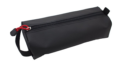 Rough Enough Black EDC Pouch Organizer Large Big Pencil Case Small Tool Bag for