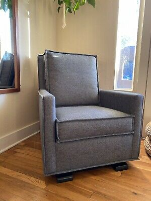 New Crate And Barrel glider rocking chair