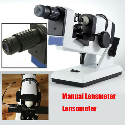 Portbale Manual Lensmeter Lens Optical Lensometer Focimeter Optometry Machine