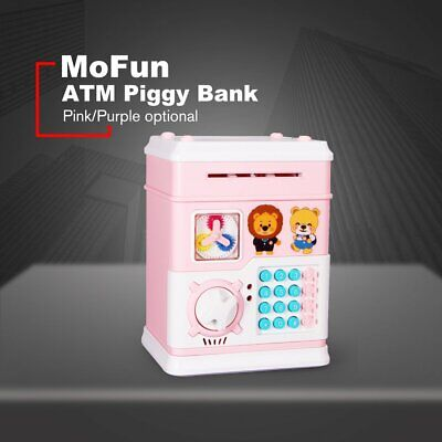 MoFun Auto Electronic Piggy Bank ATM Password Money Saving Deposit Story Box /