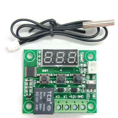 -50-110°C W1209 Digital thermostat Temperature Control Switch DC 12V + Sensor
