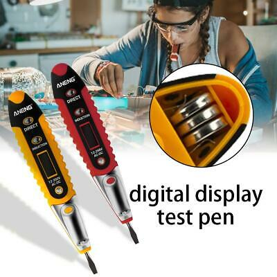Voltage Tester Electrical Tester-Pen Detector LCD-Display For Electrician Tool