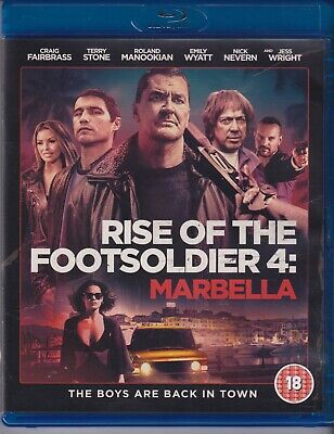 Rise Of The Foot Soldier, Part 4, Marbella, Region B, Blu Ray