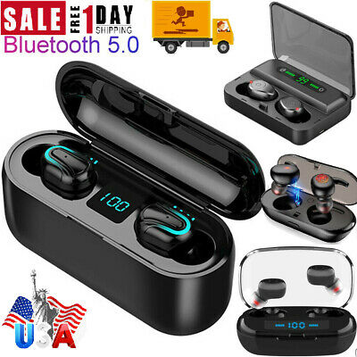 TWS Bluetooth 5.0 Earbuds Wireless Headphones Earphones For iphone Android USA
