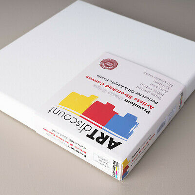 ARTdiscount PREMIUM Artist Canvas - Deep Edge (Blank Canvas)