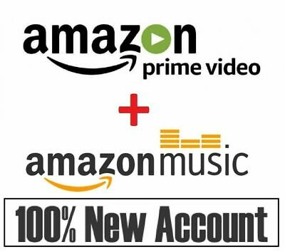 6 MONTHS Amazon Prime Video + Prime Music | FAST DELIVERY  |