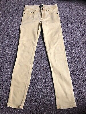 Timberland Teen Boys Yellow Jeans age 16 years height 174cm M Slim Fit Straight