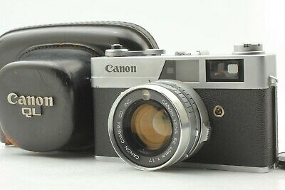 [Near Mint] Canon Canonet QL17 35mm Film Rangefinder Camera 40mm F1.7 from Japan