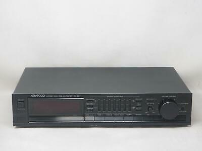 KENWOOD KC-207 Stereo Control Amplifier Works Great! Free Shipping!