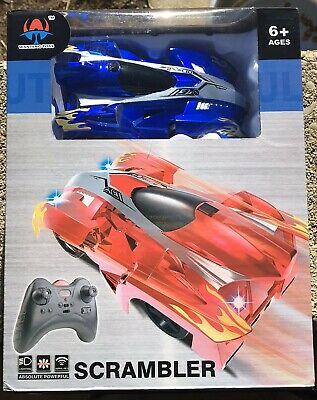 Scrambler Wallclimbing Remote Control Car New In Box