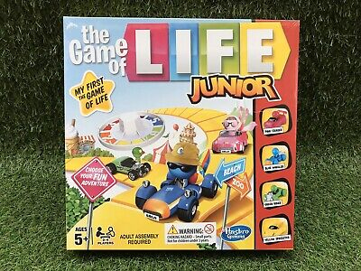 The Game of Life Junior Edition Board Game - New & Sealed