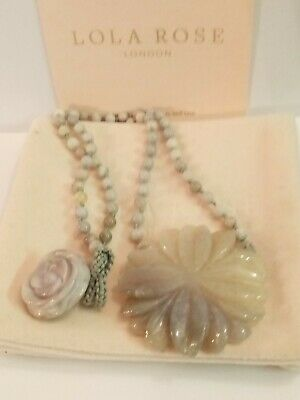 Lola Rose Aila Necklace in Montana Agate