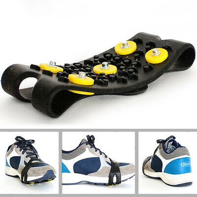 Mountval Ice and Snow Grips Snow Covers Slip On Stretch Durable Cleats Crampons Various Sizes
