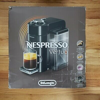 Nespresso Vertuo Coffee & Espresso Maker ENV135GY DeLonghi used great condition