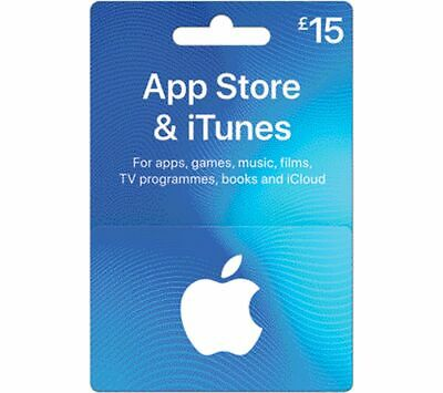ITUNES £15 App Store & iTunes Gift Card - Currys