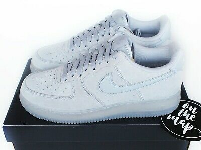Nike Air Force 1 AF1 '07 LV8 3 Wolf Grey Suede UK 5 6 7 8 9 10 US New
