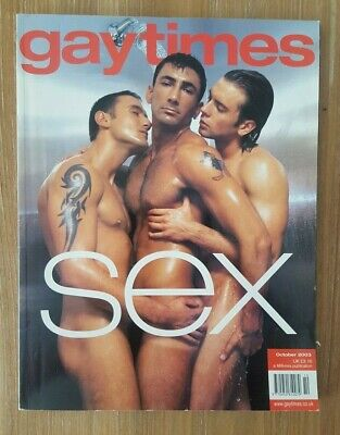 Gay Times magazine number 301 October 2003