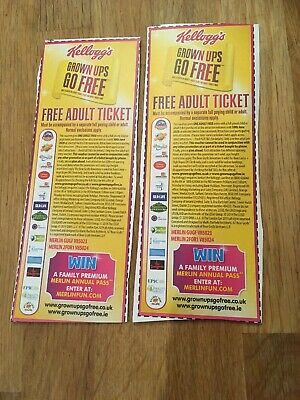 2 for 1 Ticket Legoland Alton Towers Madame Tussauds London Eye Valid Until 2020