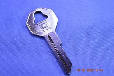 Key Blank for Vintage Desoto 1935 to 1938 glove box /& trunk 1199DR
