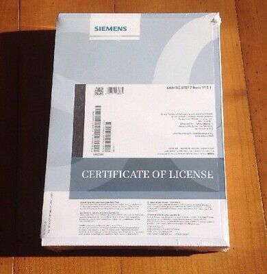 Siemens SIMATIC Tia Portal Step 7 Basic V15.1 6ES7822-0AA05-0YA5 (New & Sealed)