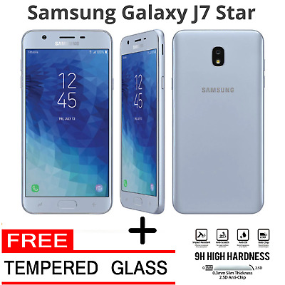 New Samsung Galaxy J7 Star Unlocked + FREE Tempered Glass on every purchase
