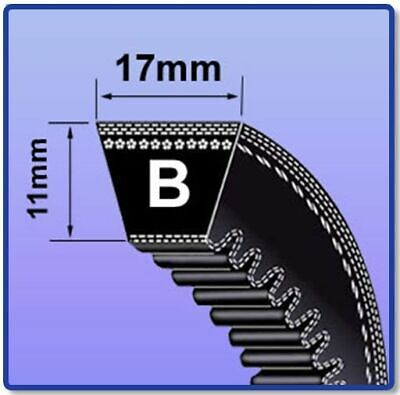Bx B Section Cogged V Belt Sizes Bx22 - Bx55 V Belt 17Mm X 11Mm Vee Belt Mc