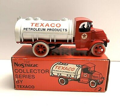 1985 TEXACO 1926 Mack Tanker Bank truck #2 in ERTL Collector Series w/box NIB!