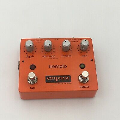 Empress Tremolo Effects Pedal w/ Tap Tempo V1