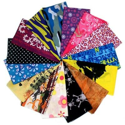 35Styles Face Mask Sun Shield Neck Gaiter Balaclava Neckerchief Bandana Headband