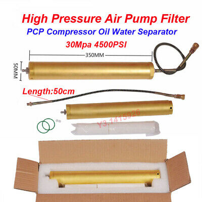 30Mpa 4500psi Oil-Water Separator Air Filter High Pressure PCP Compressor Pump