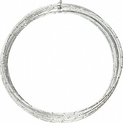 Creotime Aluminum Wire 7 M round 2 mm Silver