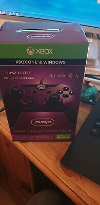 PDP Microsoft Licenced Wired Controller Gamepad Xbox One & Windows 10 PC  Purple