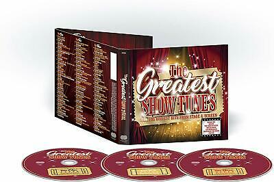 THE GREATEST SHOW TUNES  (2018) 58-track 3-CD digipak NEW/SEALED Mamma Mia