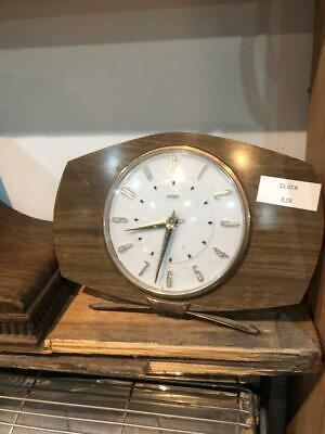 Old Vintage Retro Antique Mantle Clock Collectable