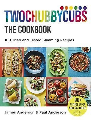 Twochubbycubs The Cookbook 100 Tried..By James and Paul Anderson~Hardcover~New