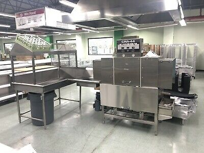 CMA Dishmachines CMA-44H High Temperature Conveyor Dishwasher - Right to Left
