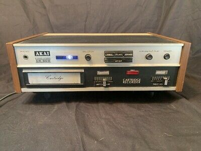 Akai CR-80D 8 Track Stereo Player/Recorder
