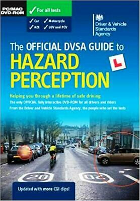 Official DVSA guide to hazard perception DVD ROM Theory Test    a41