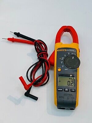 Fluke 374 Clamp Meter With Leads