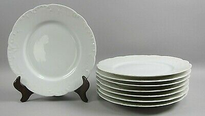 Lote de 8 Haviland China Marseille Almuerzo Platos Ex