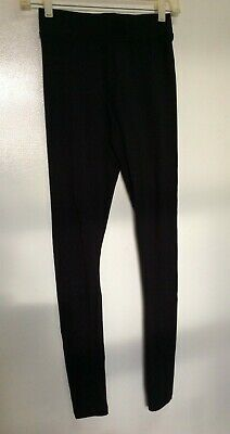 Forever 21 Black Leggings Size S Women Girls Juniors Petite Activewear EC