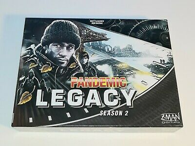 Pandemic Legacy: Season 2 By ZMAN Games Black Edition