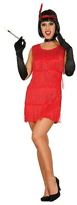 Ladies ROSSO//NERO 1920s 20s Flapper Costume Outfit 12-14-16-18