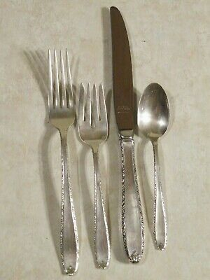 Southern Charm by Alvin Sterling Silver 4 piece Place Setting gently used
