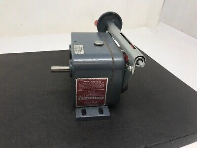 Zero-Max E1 CCW Drive Speed Reducer 0-400 Motion Control Gear Box GOOD Free Ship