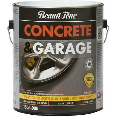 3.7L Slate Grey Concrete and Garage Latex Paint
