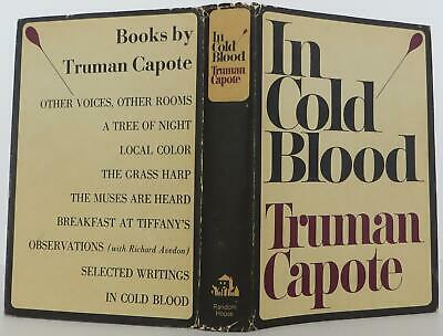 Truman Capote / In Cold Blood First Edition 1965 #1904010