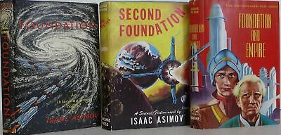 Isaac` Asimov / The Foundation Trilogy Signed 1st Edition 1951 #1803049
