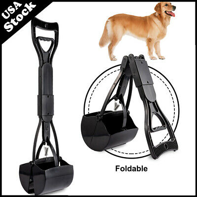 Dog Pooper Scooper for Pets Cats Dog Heavy Duty Waste Pickup Remover Foldable