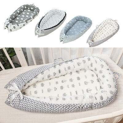 Baby Bassinet Bed Foldable 0-3 Years Olds Portable Infant Lounger Nest Crib